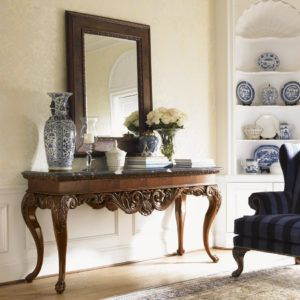 Lovely Hallway Table Mirror Sets