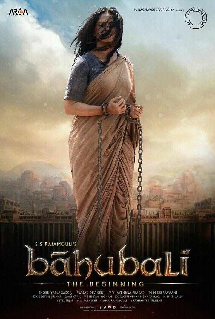 Anushka Shetty as old Devasena.. It takes courage to play