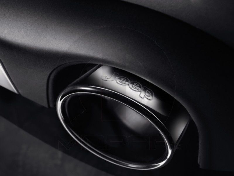 black chrome dual exhaust tips for 2011
