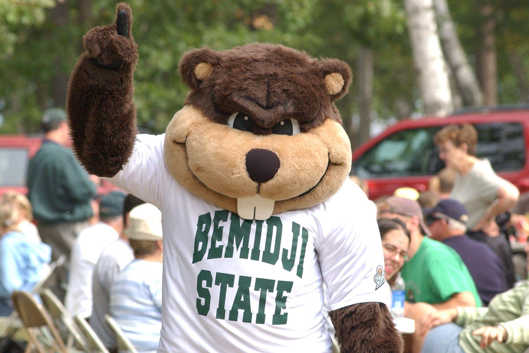 Yeah bucky the beaver bemidji minnesota