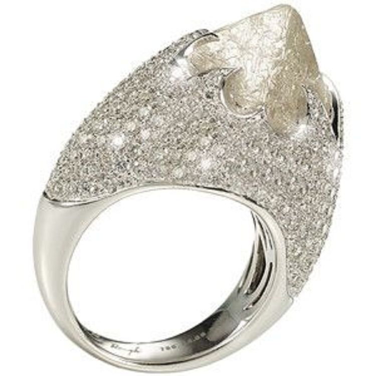 48842f640a3ab9 iceberg engagement ring silver | Beauty Jewelry ideas | Engagement ...