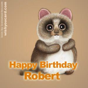 Happy Birthday Robert Gefeliciteerd Naam