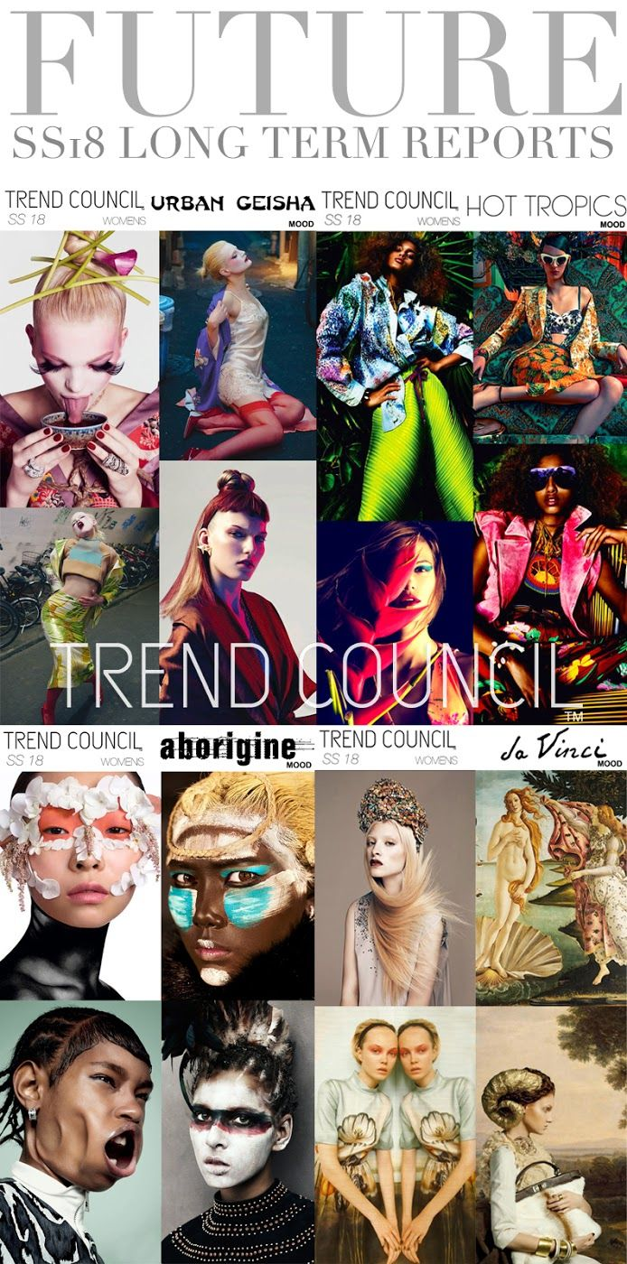 TRENDS // TREND COUNCIL - WOMENS AND MENS . SS 2018 (FASHION VIGNETTE)