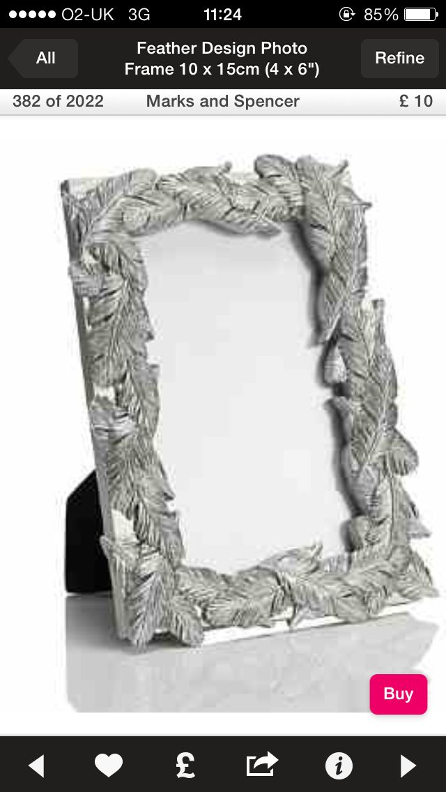 Another silver photo frame!