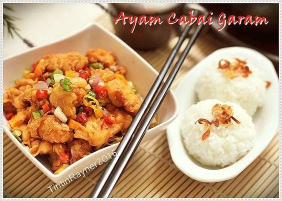 Resep Ayam Cabai Garam Mudah Pedess Asin Endess Oleh Tintin Rayner Resep Resep Ayam Resep Resep Daging