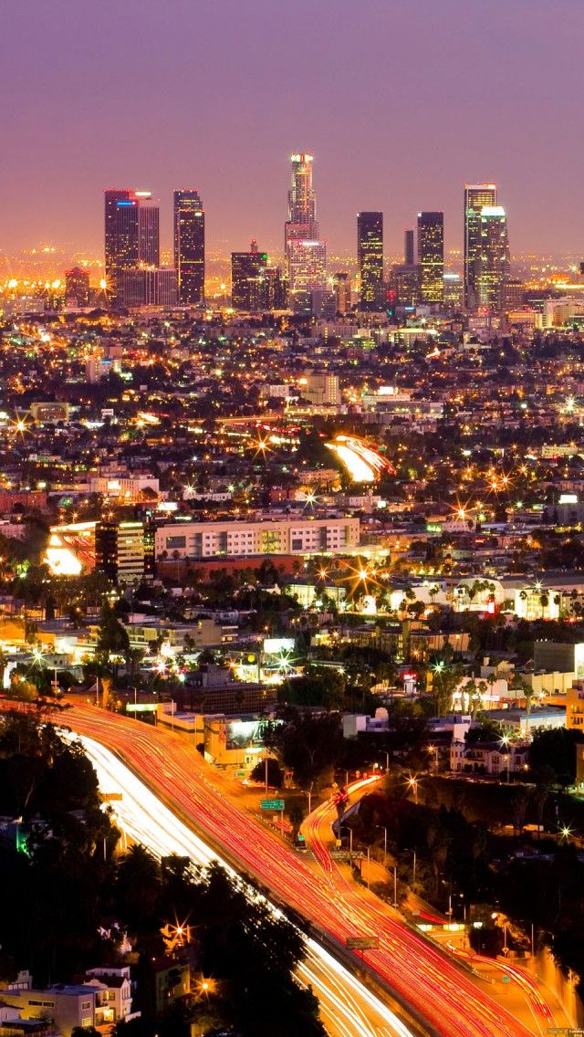 Los Angeles Night (With images) Los angeles at night