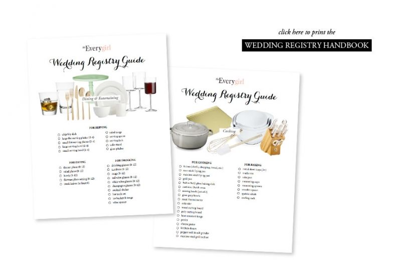 Wedding registry guide wedding wedding and wedding planning the everygirls wedding registry guide theeverygirl junglespirit Images
