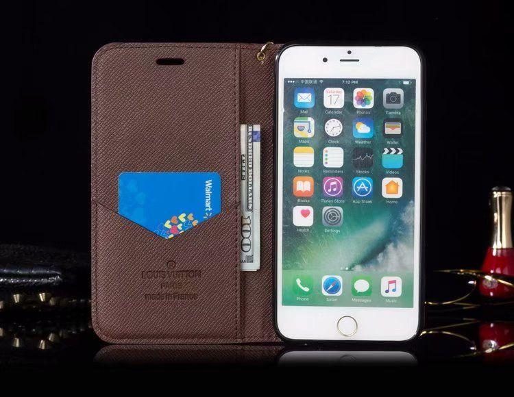 Classic lv iphone xs max monogram wallet case design