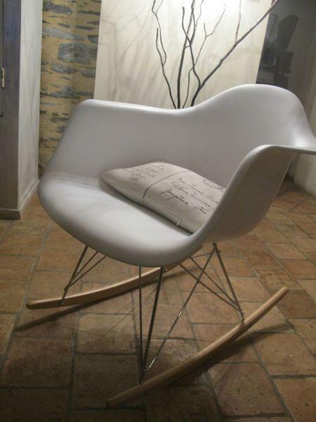 ingrid rocking chair mid century rocking chair modern