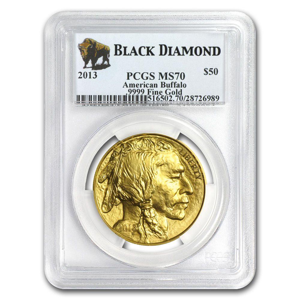 1 Oz Gold Buffalo Ms 70 Pcgs Random Year Sku 83493 Gold Coins Gold Bullion Bars Coins
