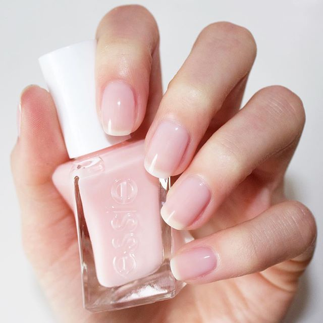 the new essie gel couture in \'sheer fantasy\' for a beautifully ...
