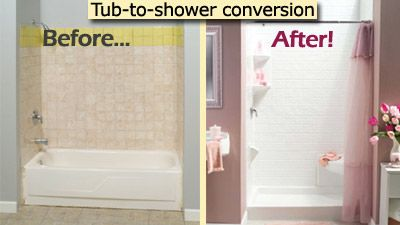 Tub To Shower Conversion Kit Home Depot