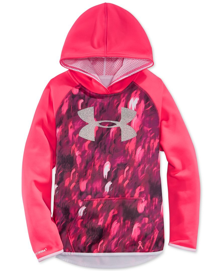 Under Armour Girls\' Logo Hoodie | My Style | Pinterest | Armours ...