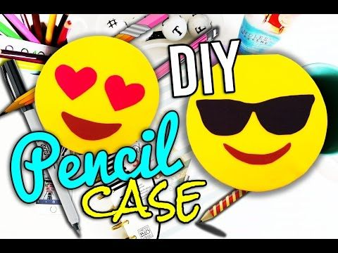 how to make a pencil case youtube