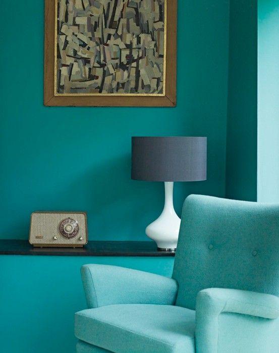 Chair Radio Lamp I Still Love Lamp Decor Mid Century Modern Blue Living Room