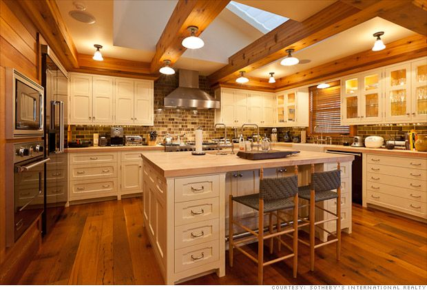 Interiors · Jerry Seinfeldu0027s Colorado Home. Amazing Kitchen.