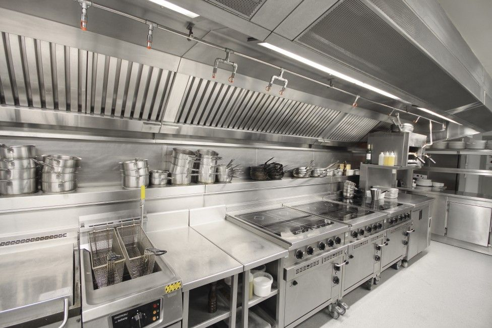Inspiring Industrial Kitchen Industrial Kitchen Industrial Kitchen ...