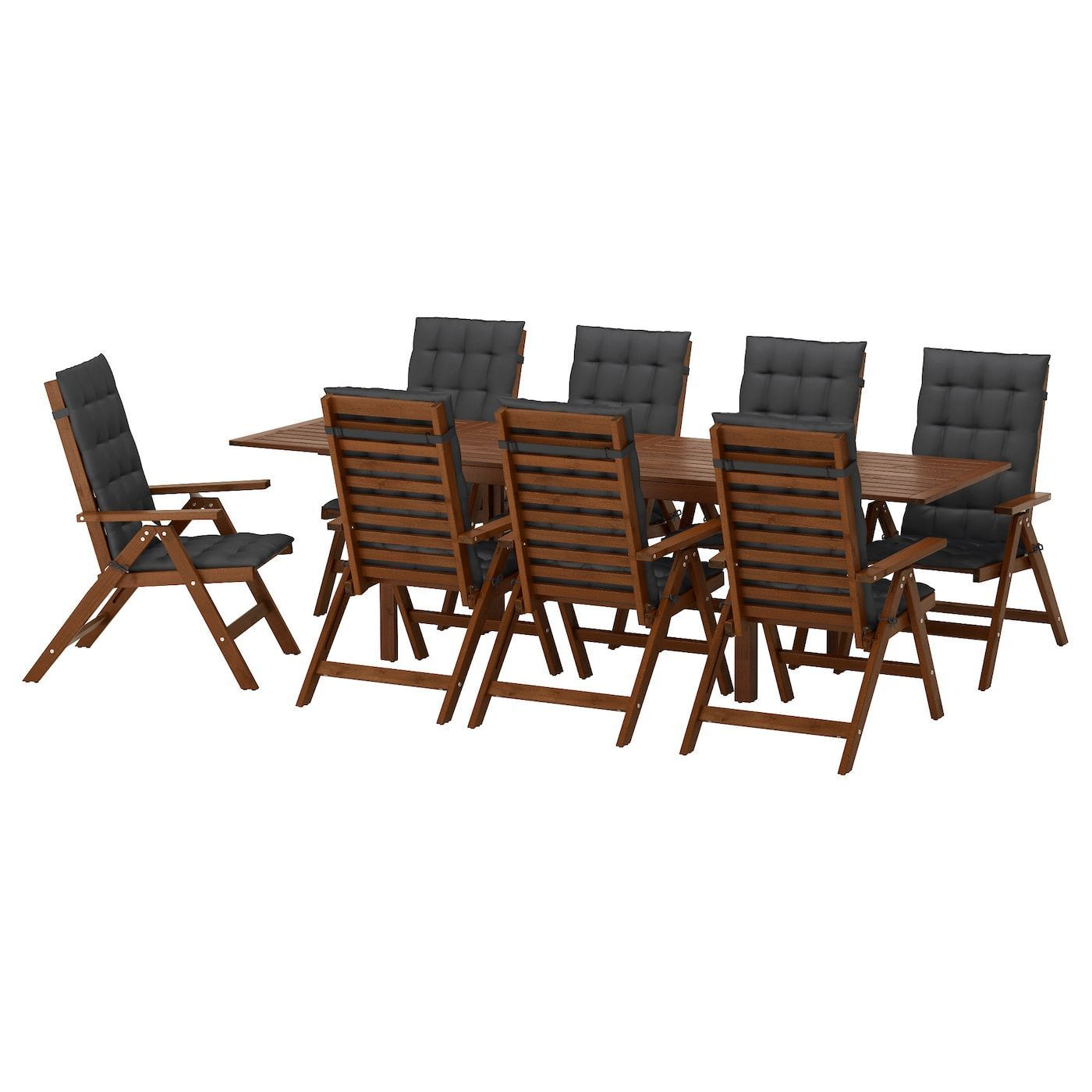 Applaro Black Brown Chairs Hallo Ikea Ikea Gartentisch