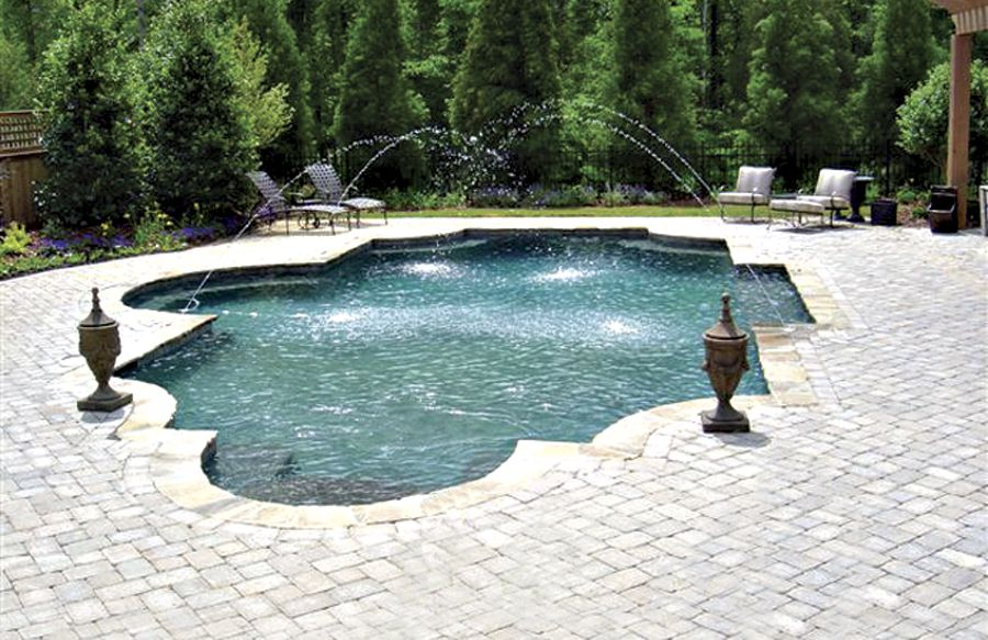 Roman / Grecian Pools   Blue Haven Custom Swimming Pool And Spa Builders