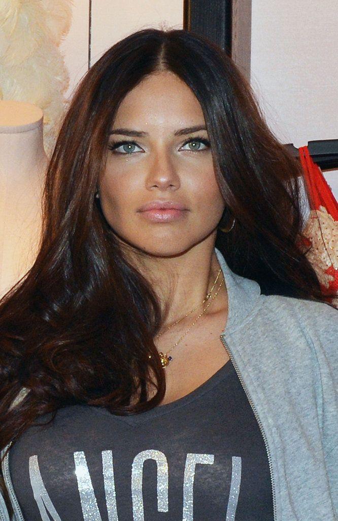 Adriana Lima Hair Color Hair Pinterest Adriana Lima Lima And