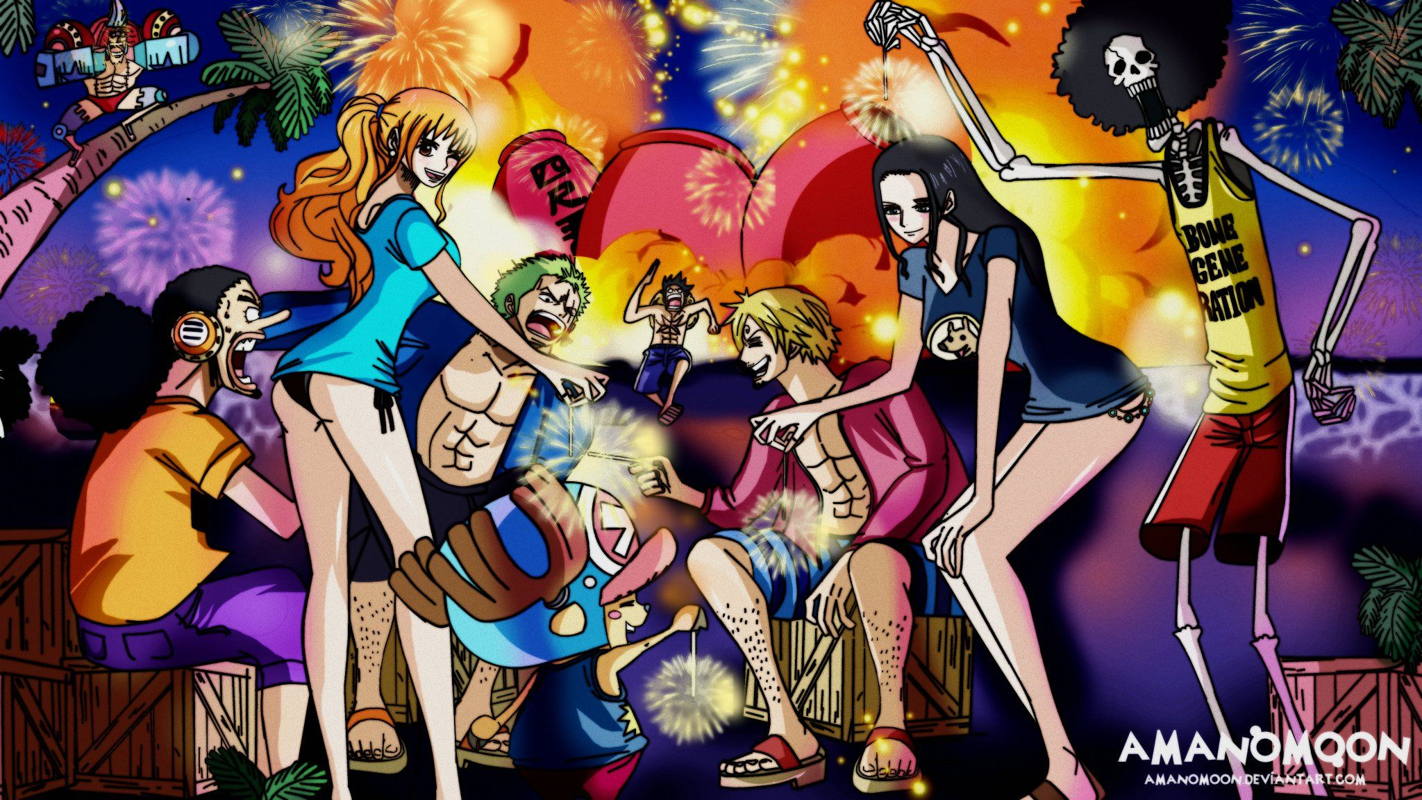 Home Screen One Piece Land Of Wano Wallpaper