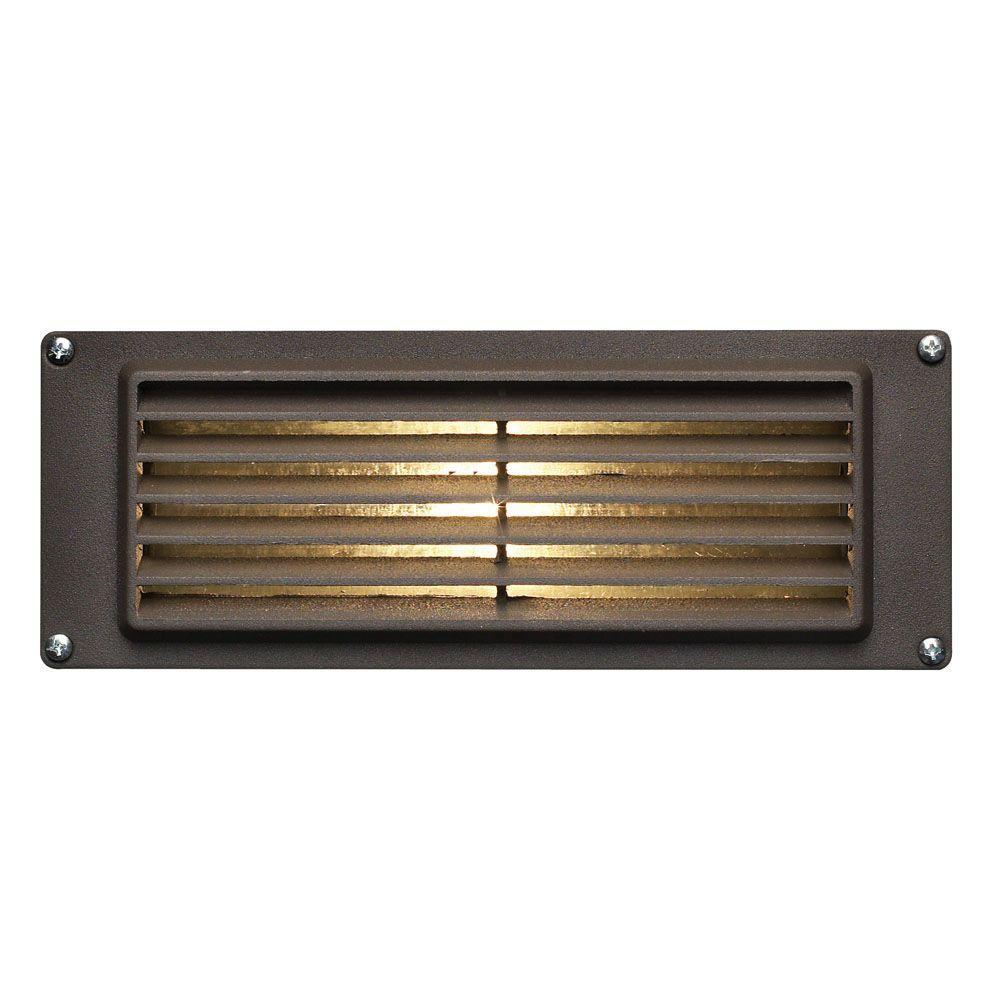Hinkley Lighting 7 75 In 3 8 Watt Led Bronze Step And Stair Deck Light Step Lighting Hinkley Lighting Deck Lighting