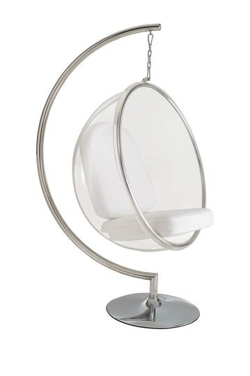 hanging chair clear eames style shannon s new room round cushioned swinging seat 9 10
