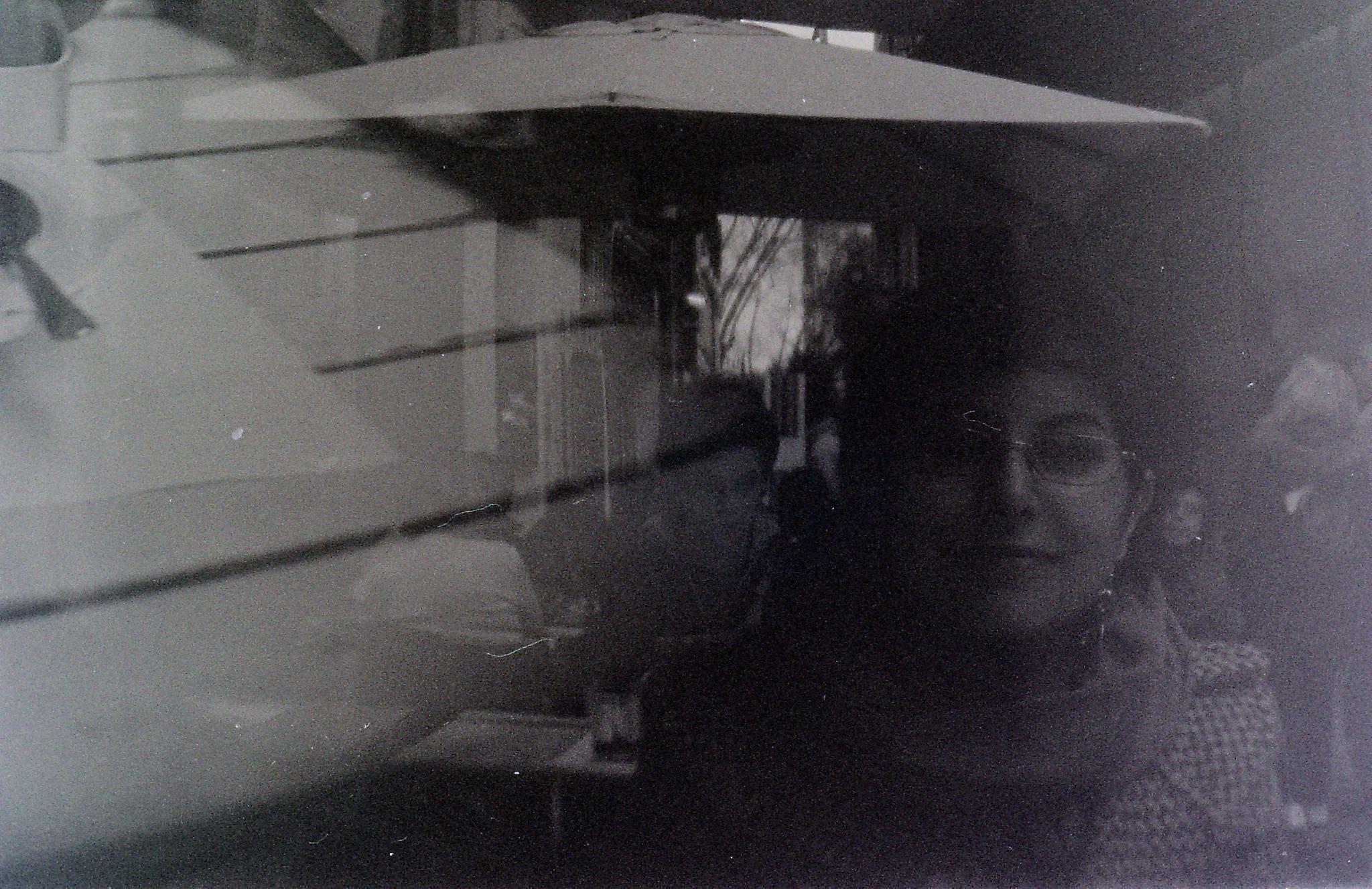 https://flic.kr/p/FxxEZf | Me, again! | Holga, Lomography Lomography #holga #analog #photography #blackandwhite #rome #lomography