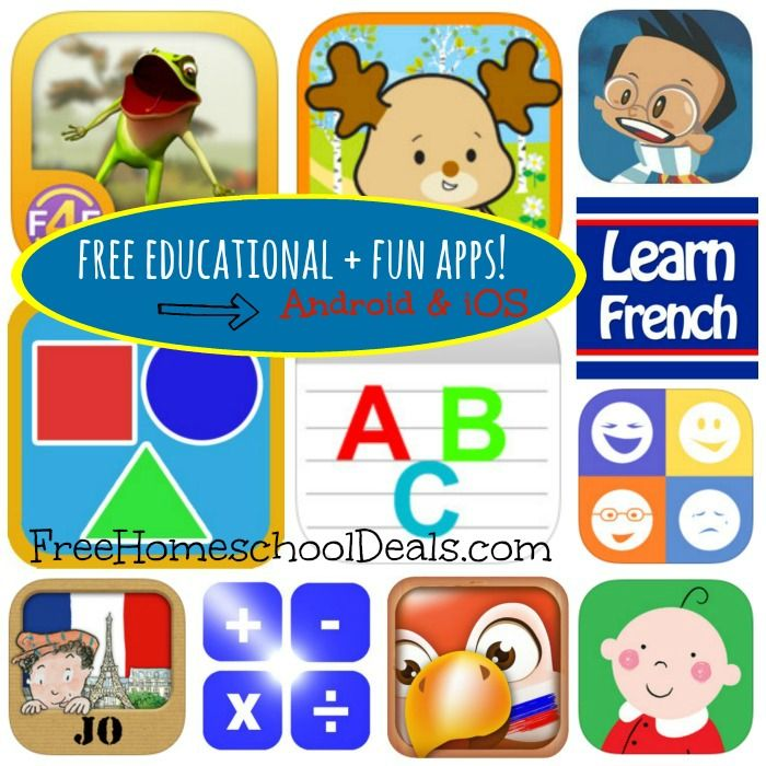 Free Educational And FUN Apps For Kids For Android And IOS