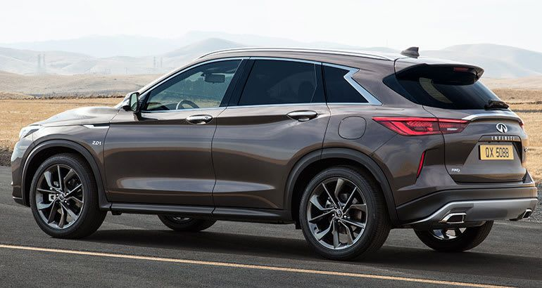 2019 Infiniti Qx50 Gets A Much Needed Transformation With Images