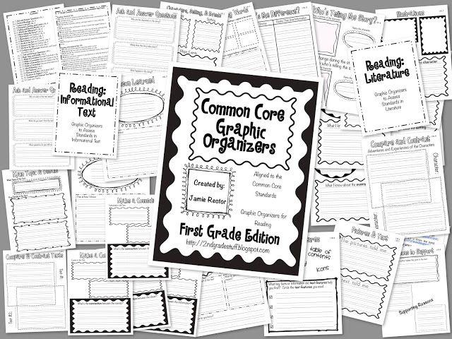 Common Core Graphic Organizers: 1st Grade Edition
