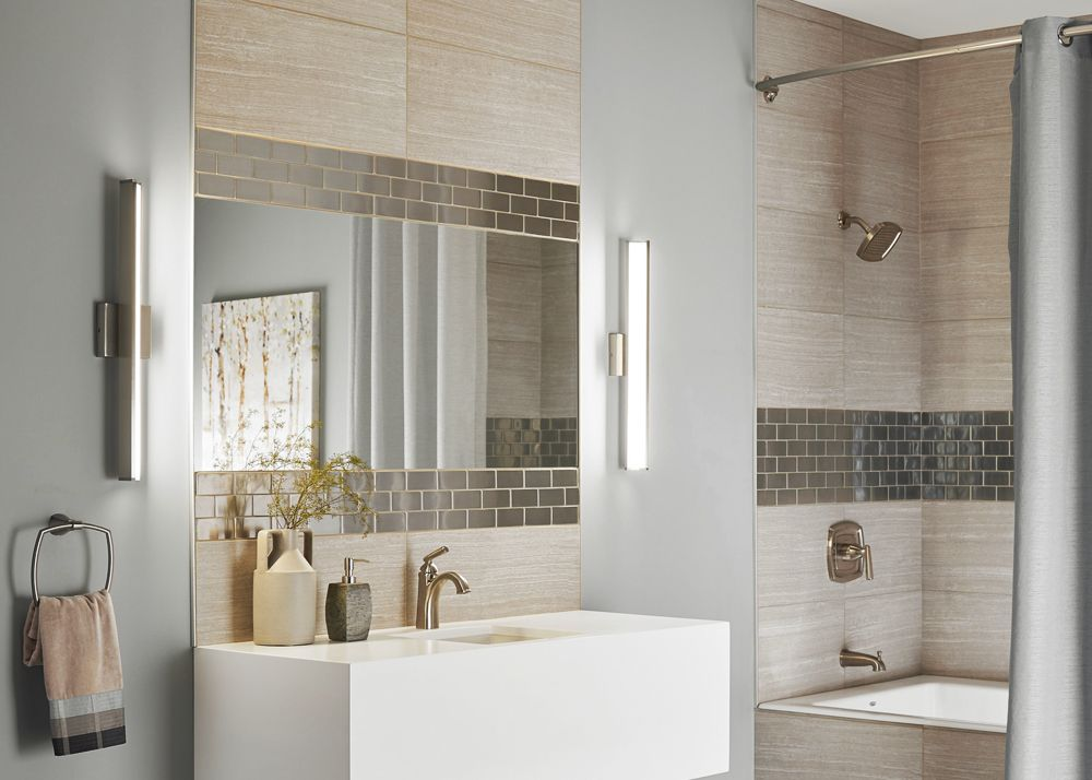 Best Bathroom Lighting For Applying Makeup Bathroom Sconces - Best sconces for bathroom