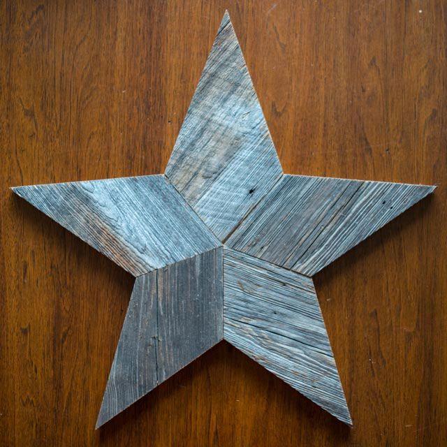 Project Idea: Barn Wood Star