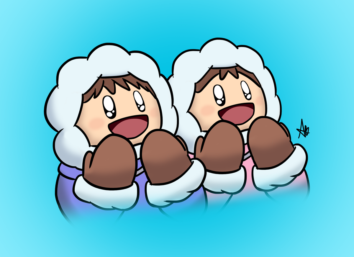 Happy Ice Climbers Super Smash Bros Characters Super Smash Bros Ice Climber
