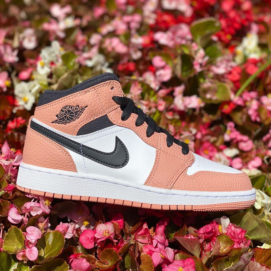"The Laboratory OKC on Instagram ""Jordan 1 Mid Pink Quartz"