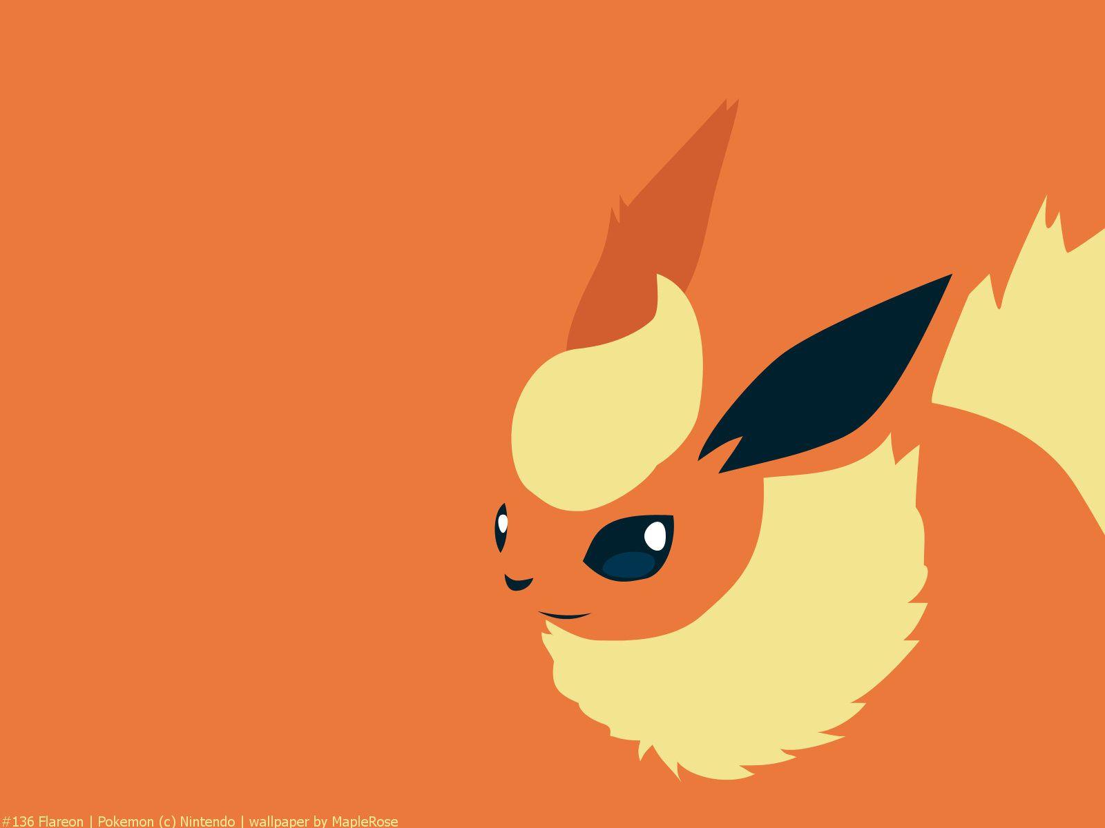 136 Flareon Pokemon Pokemon Eeveelutions Pokemon Art