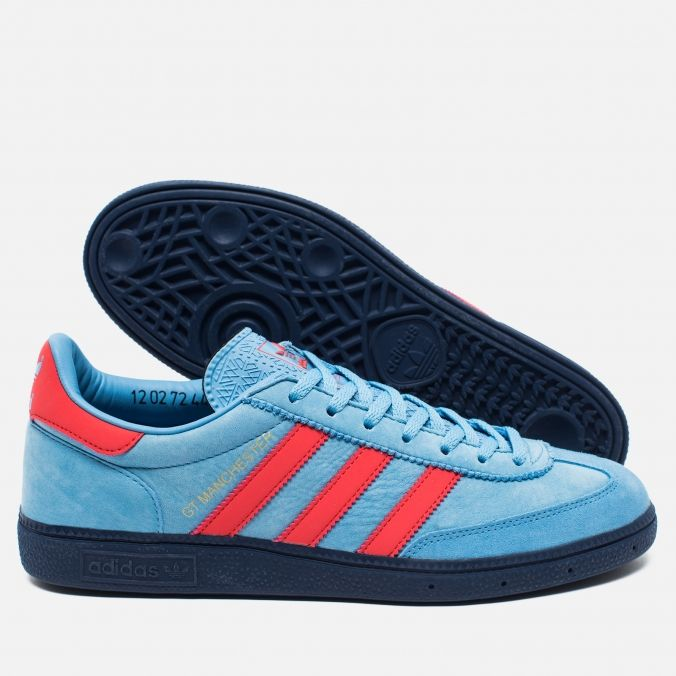 e243a31ee496 Adidas Originals GT Manchester Spezial Light Blue Bright Red Dark Blue.  Article  S80567. Year  2016. Made in Vietnam.
