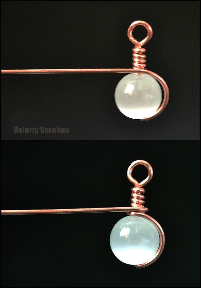 Photo of Draht gewickelt Schmuck. Wire Wrap Ohrringe. Wire Wrap Tutorial. – Handwerkliche …