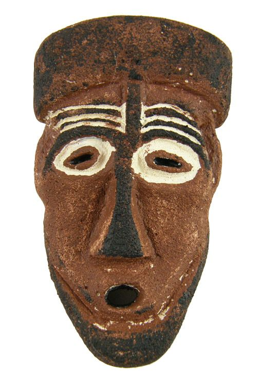 how to make african masks for kids