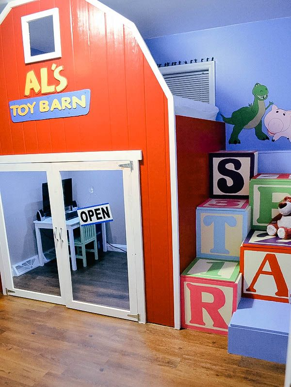 This Toy Story Themed Room Is Magical It Features A Life Size