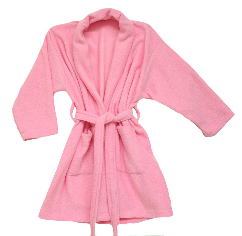 94a14fbf36 Pink Fleece Robe for Kids - Made in USA Market price   30.00 Our price    19.99