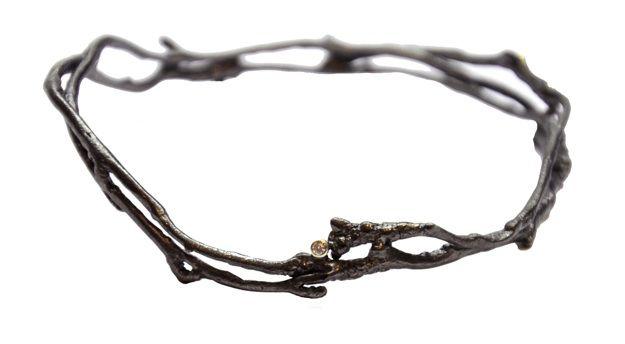 bracelet - by Ramjuly (aka Bulgarian jewellers Antoaneta Petrova Ramdjulska and Emanuela Deyanova Ramjuly )