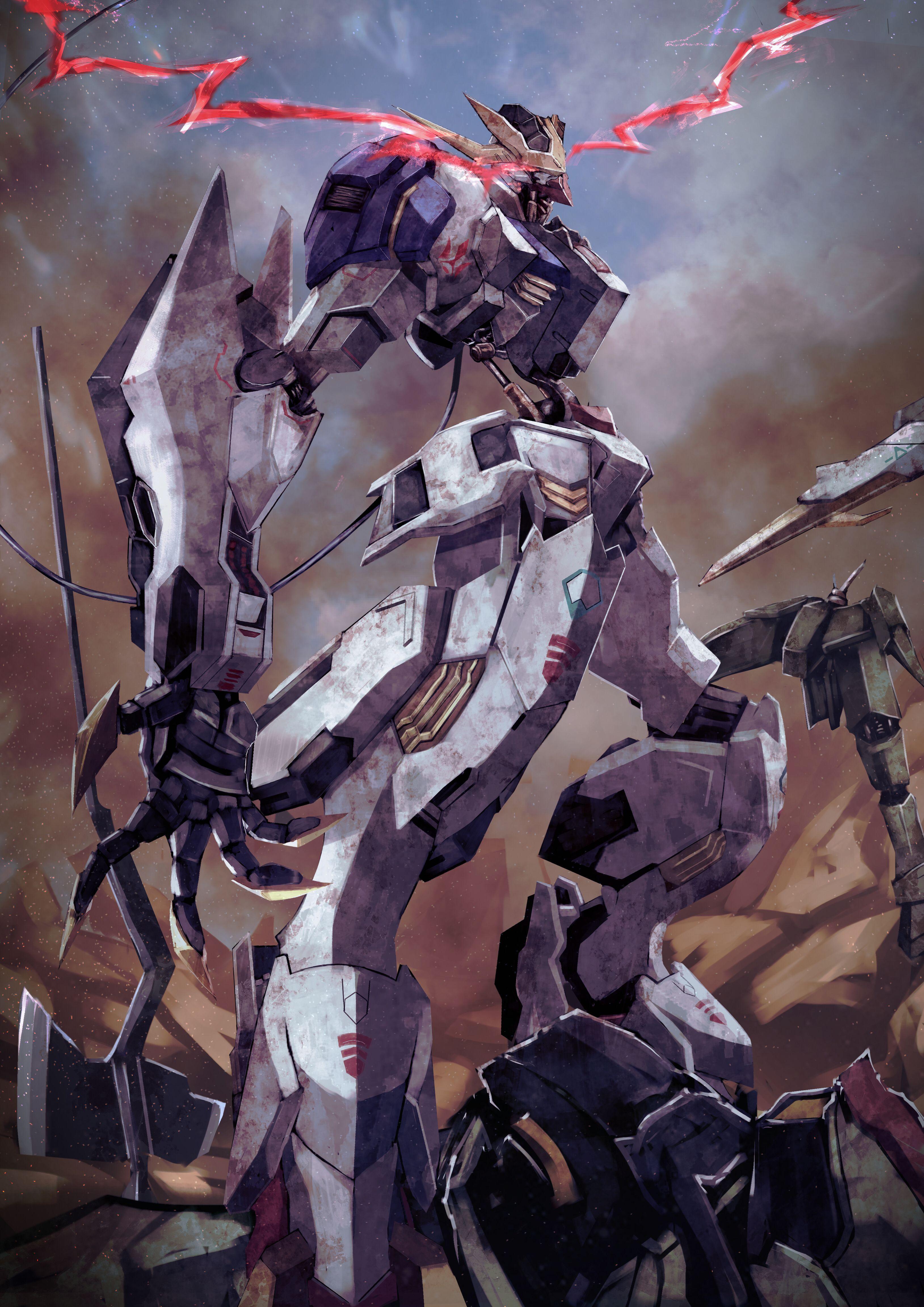 Gundam Barbatos Lupus Rex Gundam Iron Blooded Orphans Gundam Art Gundam Wallpapers