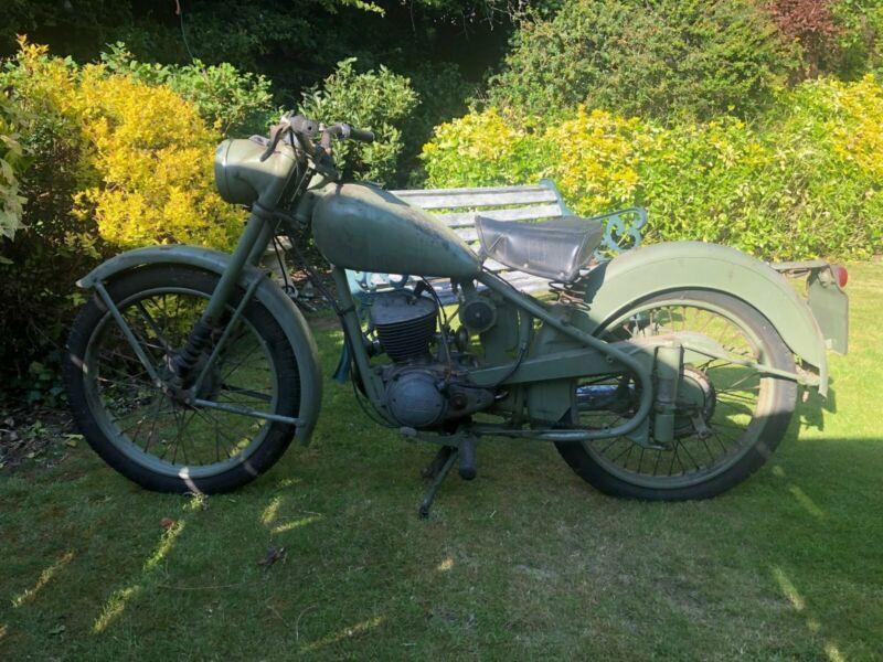 BSA BANTAM D1 PLUNGER 1960 | Custom Motorcycles For Sale In