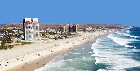 Rosarito Mexico Beach