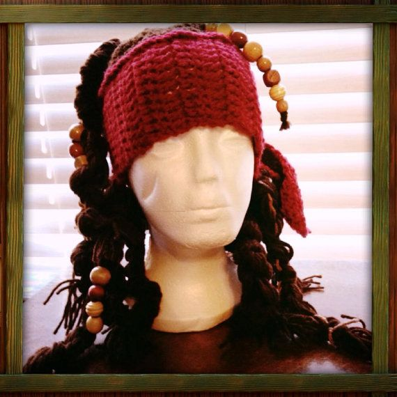 Captain Jack Sparrow Character Hat. By Fuschiablu1113 On Etsy