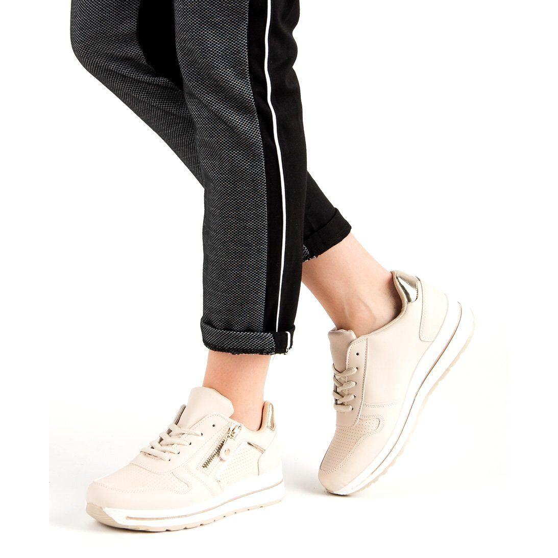 Bezowe Buty Sportowe Bezowy Shoes Sneakers Tretorn Sneaker