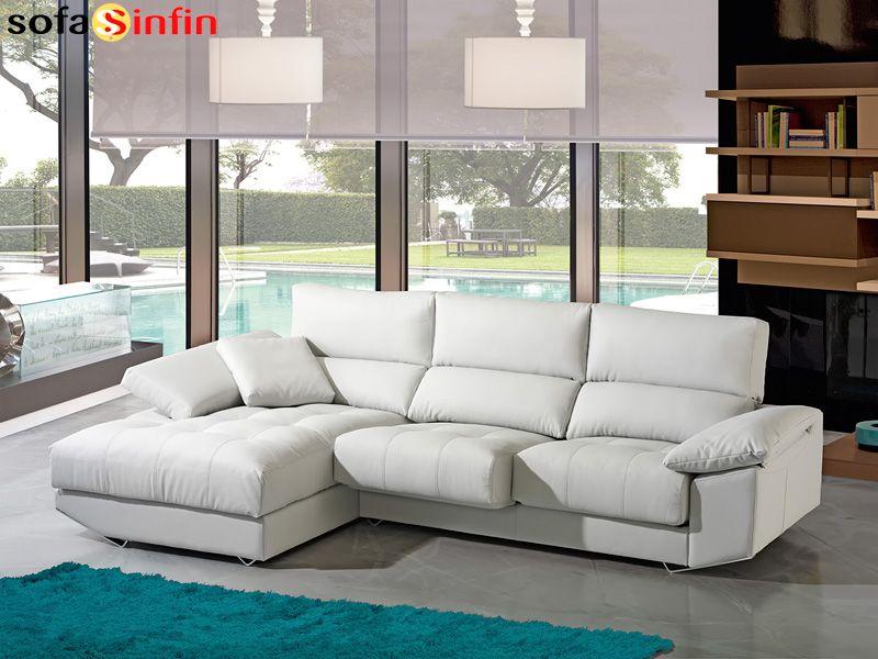 Sof con chaise longue divani star modelo zeus en - Sofas con chaise longue baratos ...