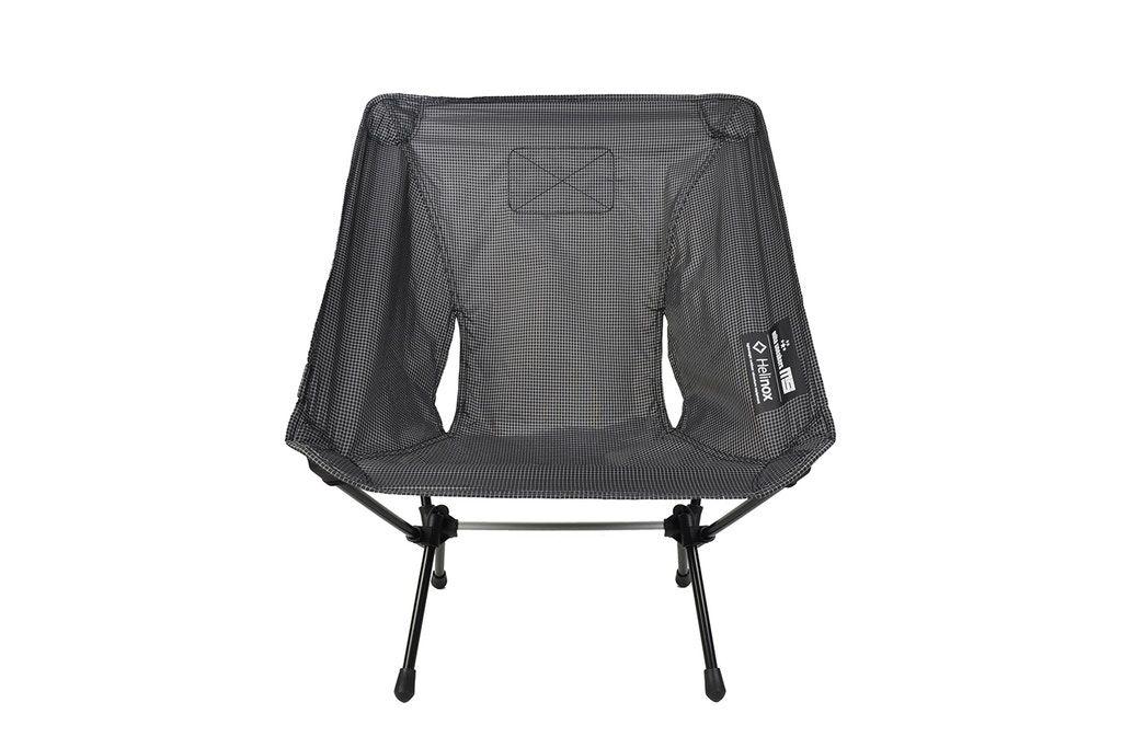 Winiche Co Mita Sneakers Revise The Helinox Chair Zero In All Black Black All Black My Style