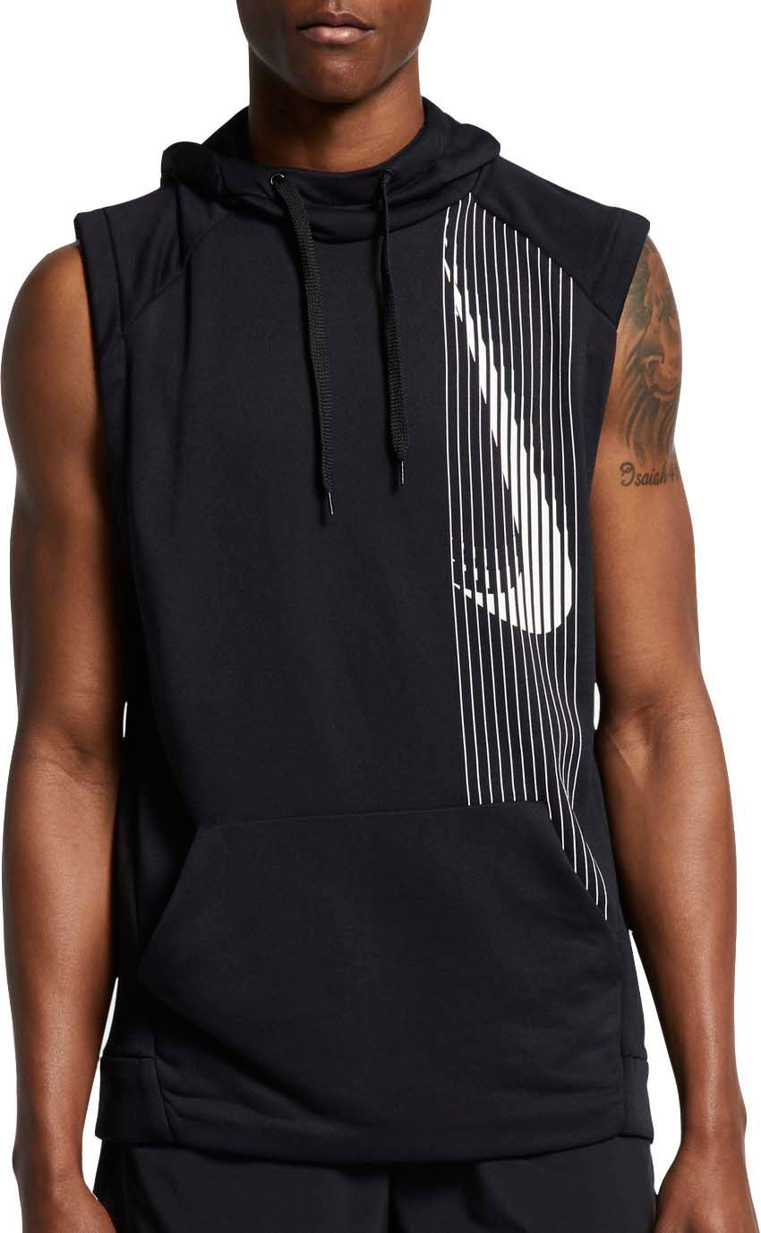 d54bf6e7f9532 Nike Men s Dri-FIT Sleeveless Hoodie